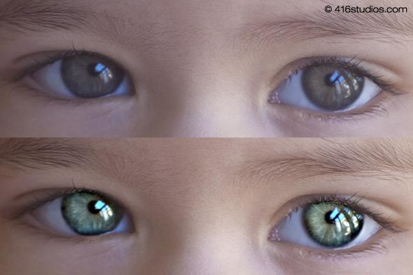 【ps锐利化】 PS眼睛模糊变清晰化教学,照片瞬间变清晰了。