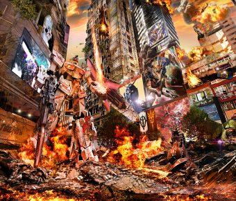 作品分享 – 《紅蓮の香港高達》