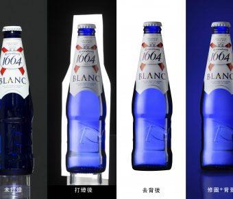 商業攝影佈光教程 用一支燈拍酒瓶 商品去背照 / photoshop 商品去背