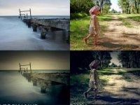 PHOTOSHOP暗角動作 一鍵步驟產生迷人的暗角氣氛 / 暗角效果 /照片暗角