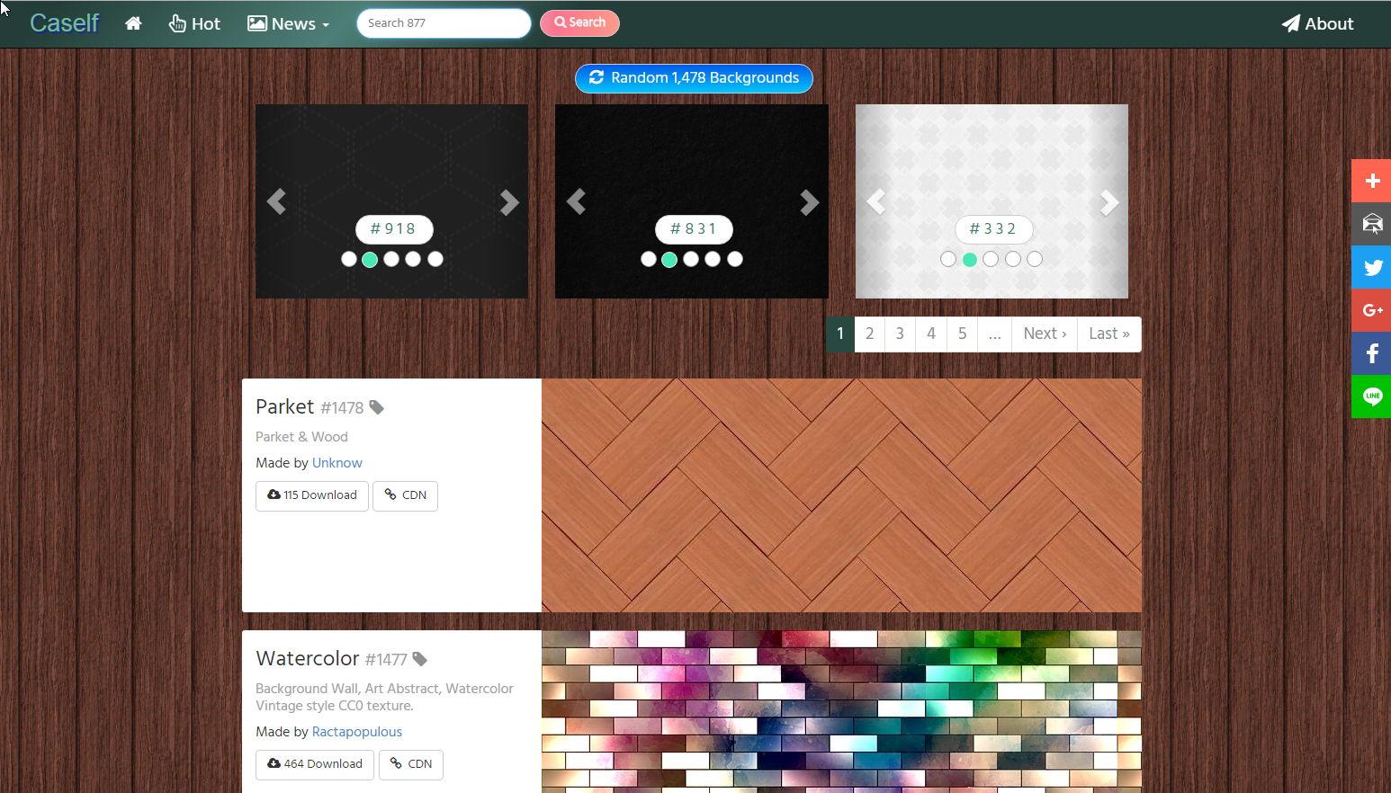 【壁纸素材】Caself 高画质免费壁纸素材下载