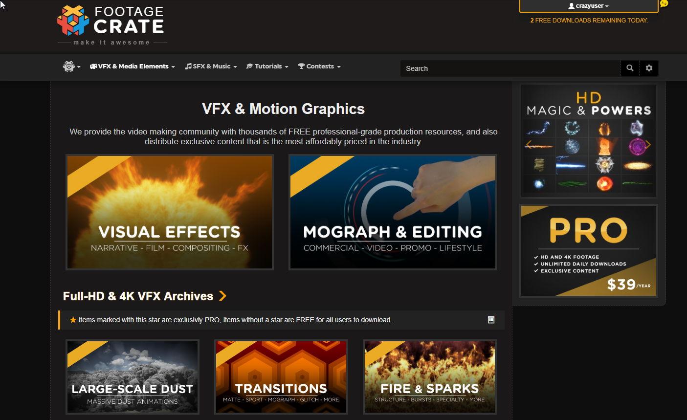 【AE特效素材】VFX 免费影片特效素材 / 电影特效素材包 / 影像特效素材