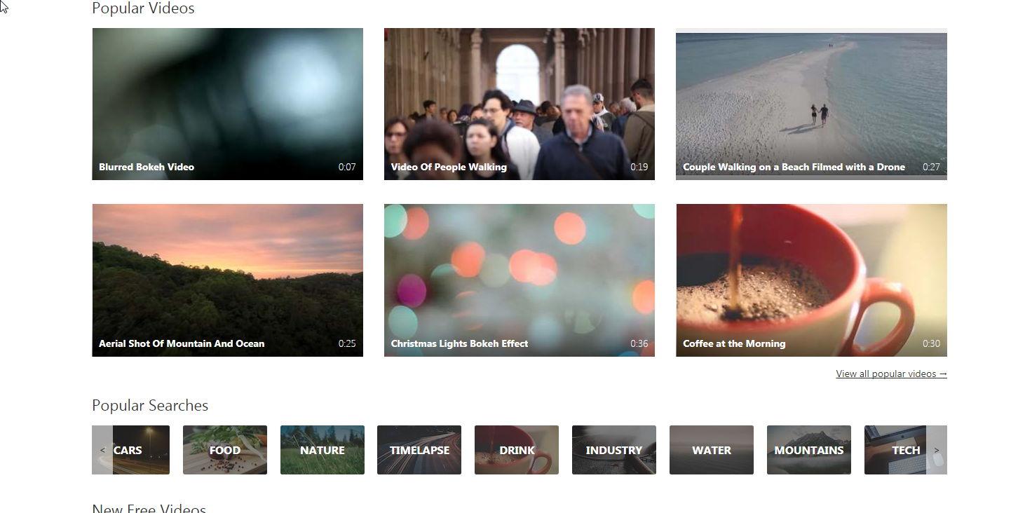 【无版权影片】4800种高画质无版权影片素材下载