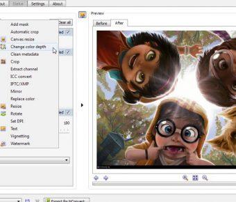 【圖片轉檔】XnConvert V1.76 圖片批次轉檔工具免費下載