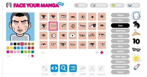 【大頭貼製作】 faceyourmanga 線上Q版大頭照製作器免費下載