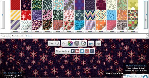 【製作背景】Pattern Cooler 線上背景圖製作工具,做出專屬的自製背景
