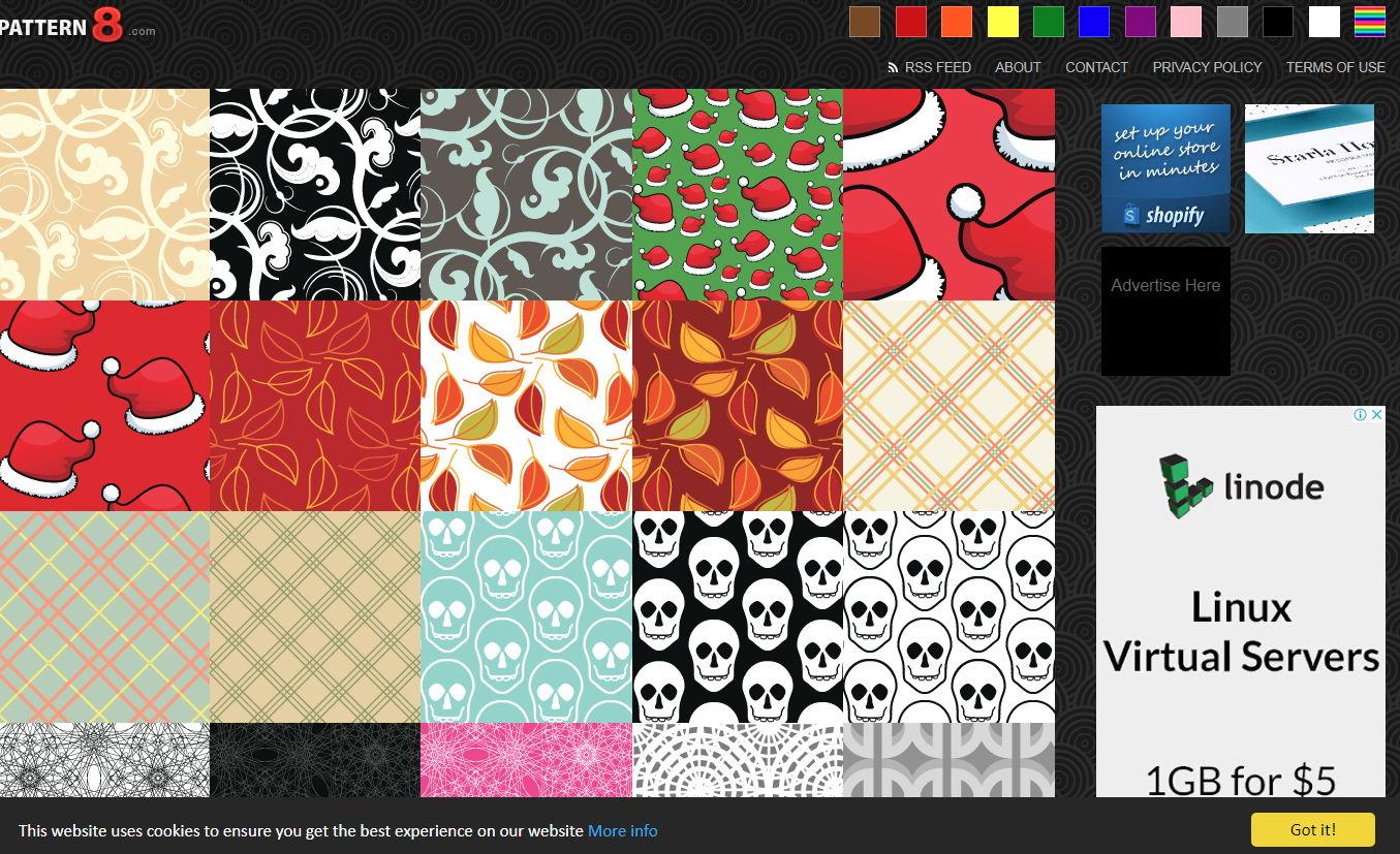 【背景图库】Pattern8 线上背景图库素材免费下载