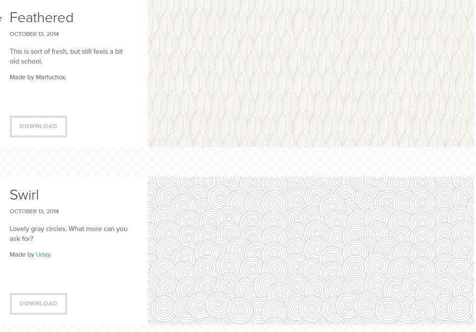 【网页背景】TOPTAL 450种网页背景素材,HTML背景延展专用