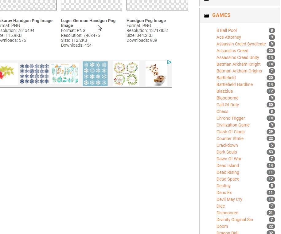 【透明背景图】Freepng 线上10万种透明背景图免费下载