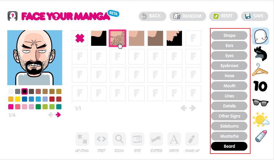 【大头贴制作】 faceyourmanga 线上Q版大头照制作器免费下载