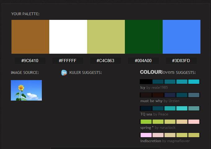 【色票本制作】Pictaculous 色票本制作工具,调色对照表制作