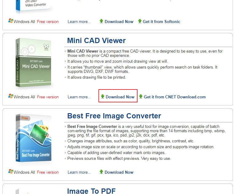 【DWG查看】Mini CAD Viewer  DWG档开启软体,AUTOCAD看图专用