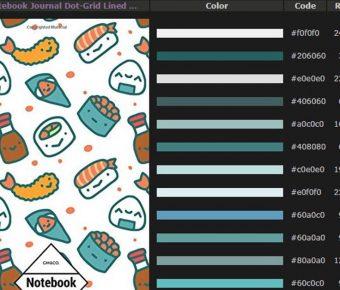 【雜誌配色】Colorchart 日系線上雜誌配色,雜誌封面色調推薦