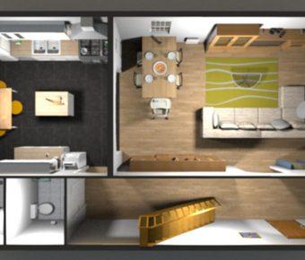 [ 室內設計 ]  Sweet home 3d繁體中文免費下載 / 室內設計軟體 / sketchup替代