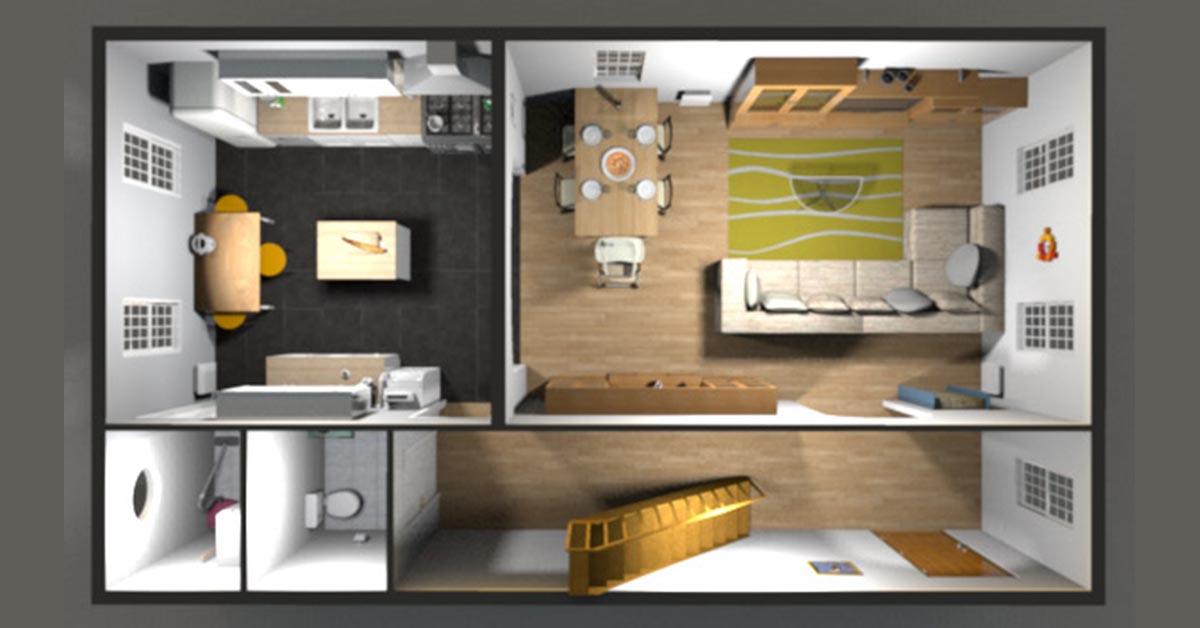 【室內設計軟體】Sweet home 3D室內設計軟體免費下載