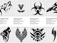 [ 刺青素材 ] 112種刺青圖案下載 / 刺青圖案設計 / 刺青貼紙圖庫