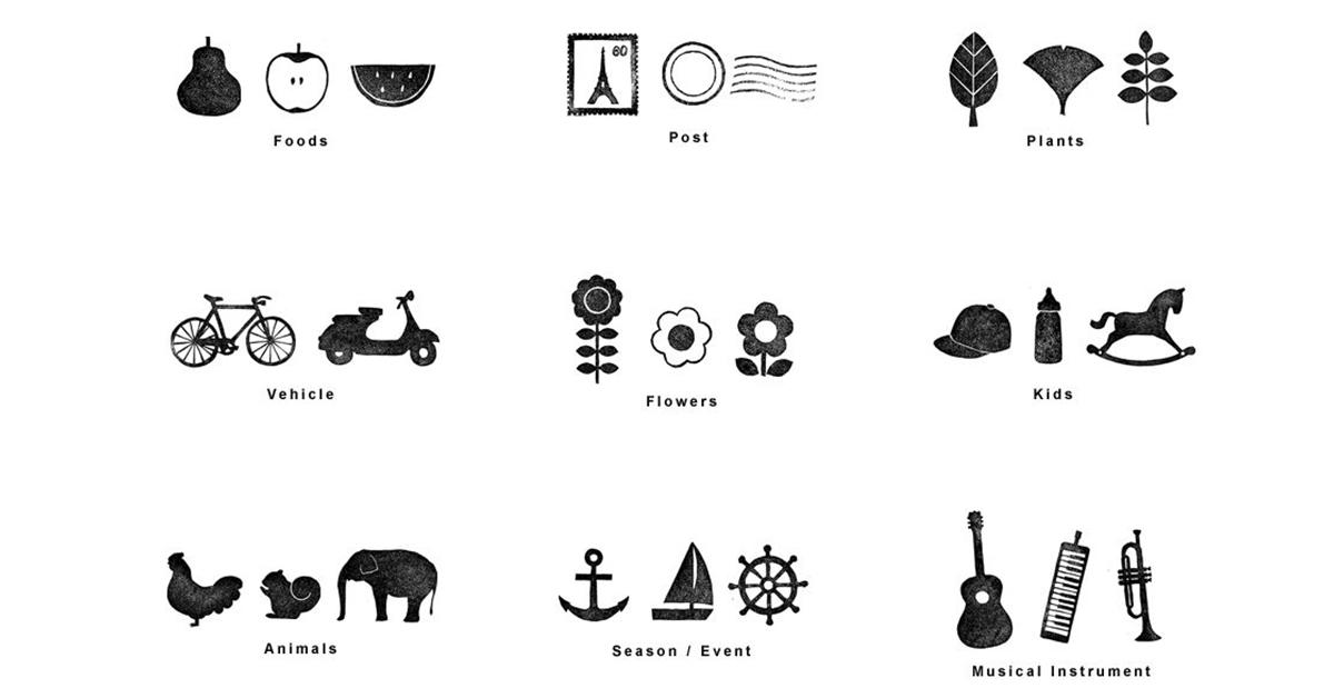 【印章素材】精選日本印章材質素材免費下載,印章製作推薦款