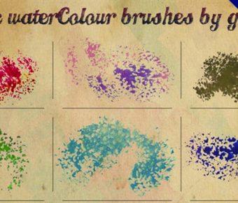 【噴漆筆刷】10種專業版Photoshop噴漆筆刷免費下載