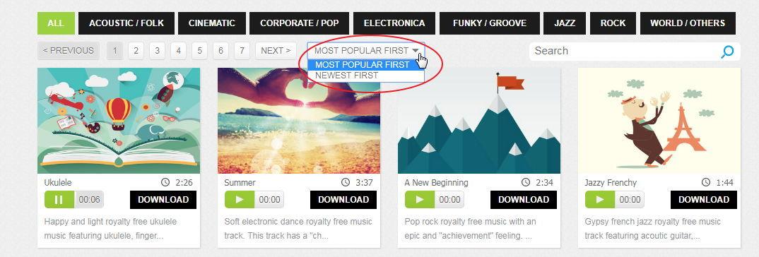 【免费音乐】Bensound 免费音乐下载,音乐下载网站推荐