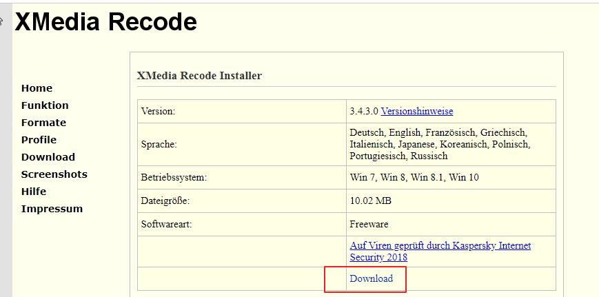 【格式转换】XMedia Recode 影片格式转换工具免费下载