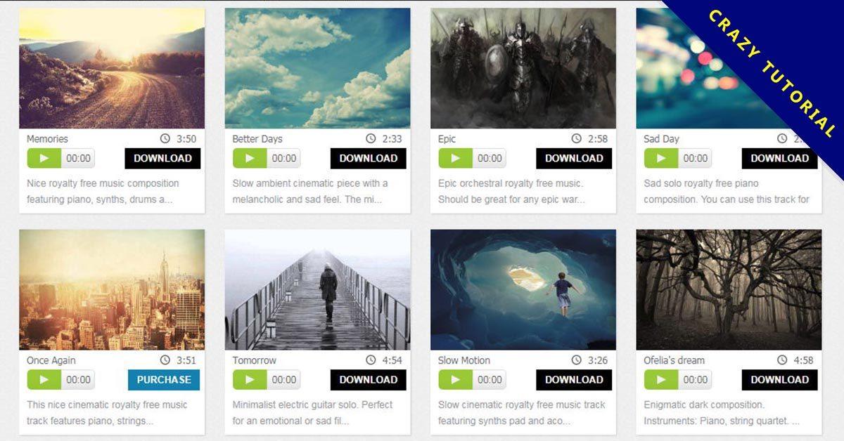 【免費音樂】Bensound 免費音樂下載,音樂下載網站推薦