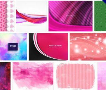 【粉色桌布】106套Illustrator 粉色背景圖素材,粉紅色桌布素材