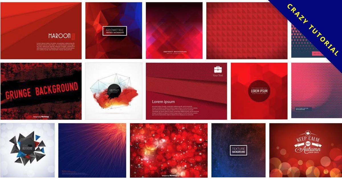 [ 紅色素材 ]  105套Illustrator 紅色背景圖下載 / 紅色桌布 / 紅色壁紙