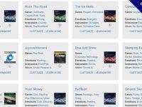Smartsound 線上無版權音樂,可線上直接做音樂剪接下載。