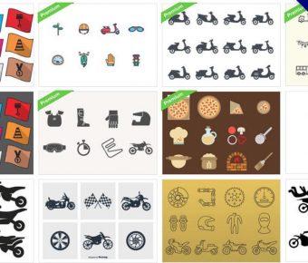 【機車圖案】70款 illustrator 機車圖案下載,機車圖示推薦款