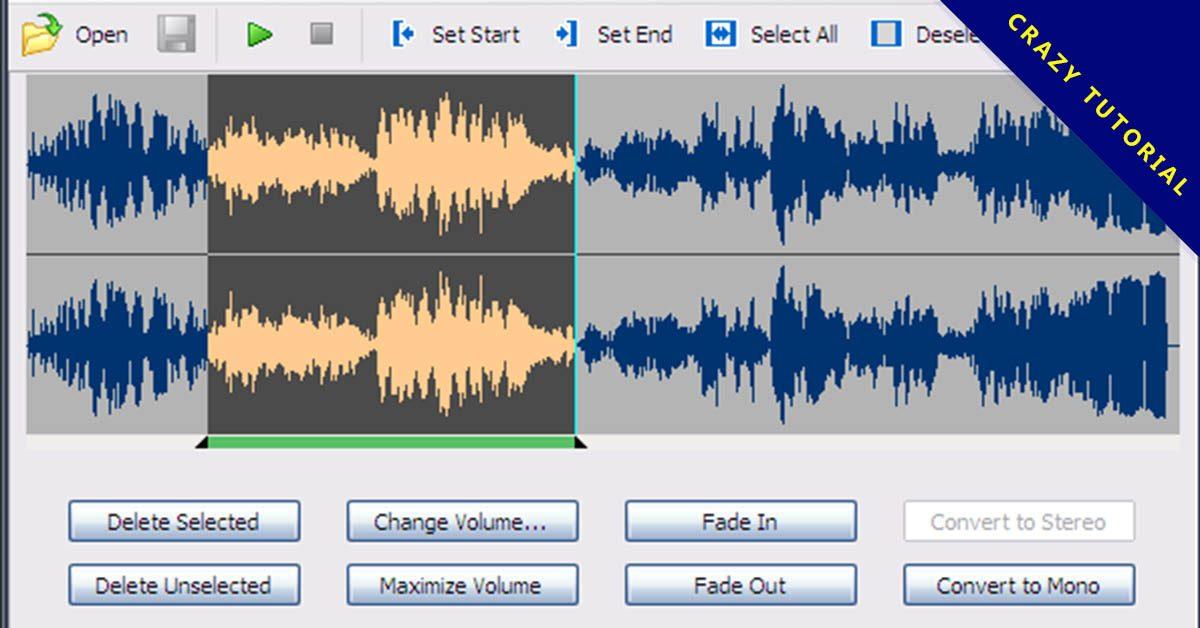 新手專用的MP3剪接軟體,快速編輯MP3音樂。