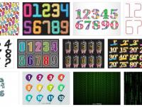 [ 數字ICON ] 68套 illustrator 數字圖案下載 / 數字素材圖庫 / 數字圖示