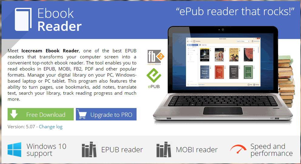 【电子书软体】Ebook Reader 电子书阅读软体,轻松打开阅读PDF、TXT档案。