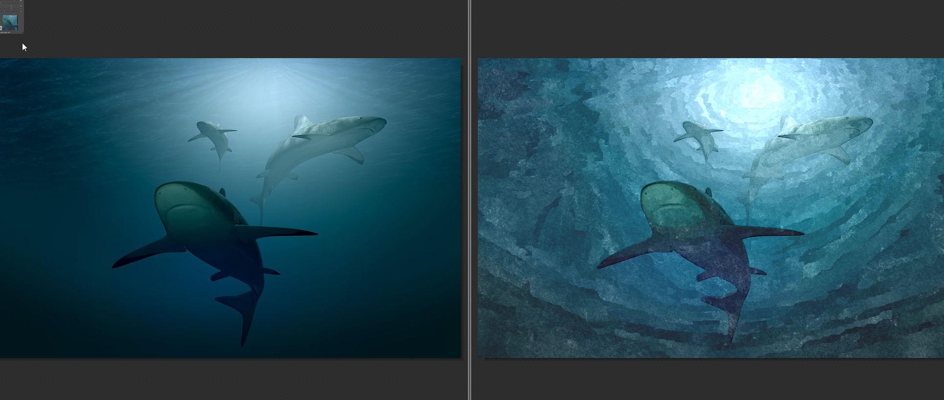 【照片转油画】FotoSketcher  照片转油画工具,轻松将照片转水彩画。