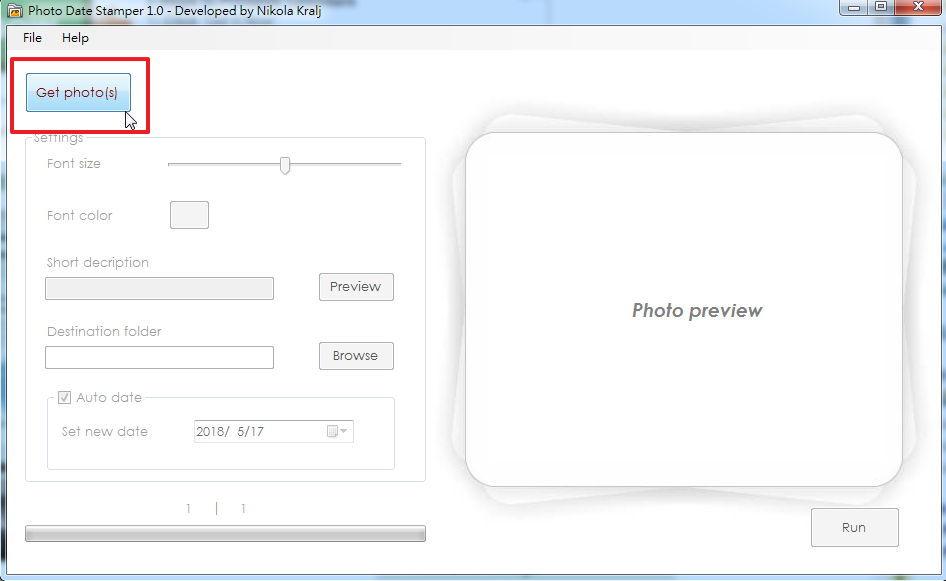 【照片加日期】Photo Date Stamper 照片加日期软体下载,轻松帮照片加日期。