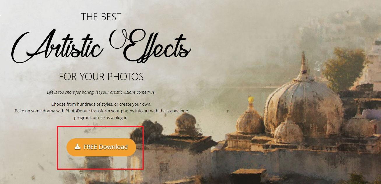 【素描软体】PhotoDonut 照片转素描软体下载,免费素描滤镜首选