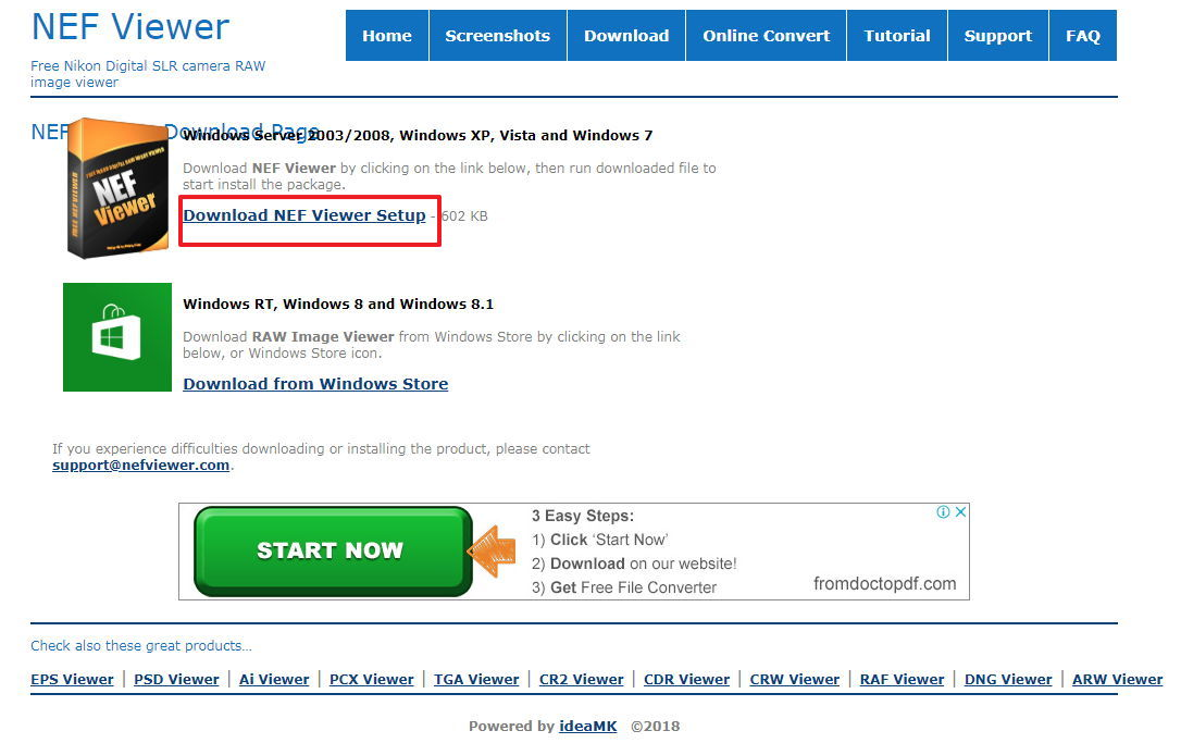 【NEF格式预览】NEF档案预览工具,快速查看NEF的照片档软体。