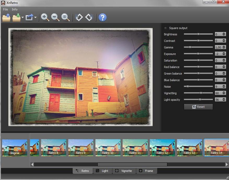 【底片滤镜】XnRetro 底片滤镜下载,一键调整出复古色调和底片色调。