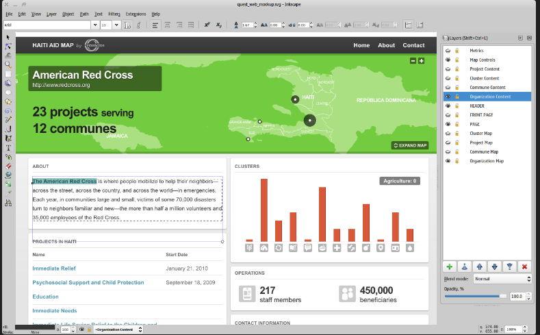 【向量绘图】专业版 Inkscape 向量绘图软体下载,向量图档制作工具