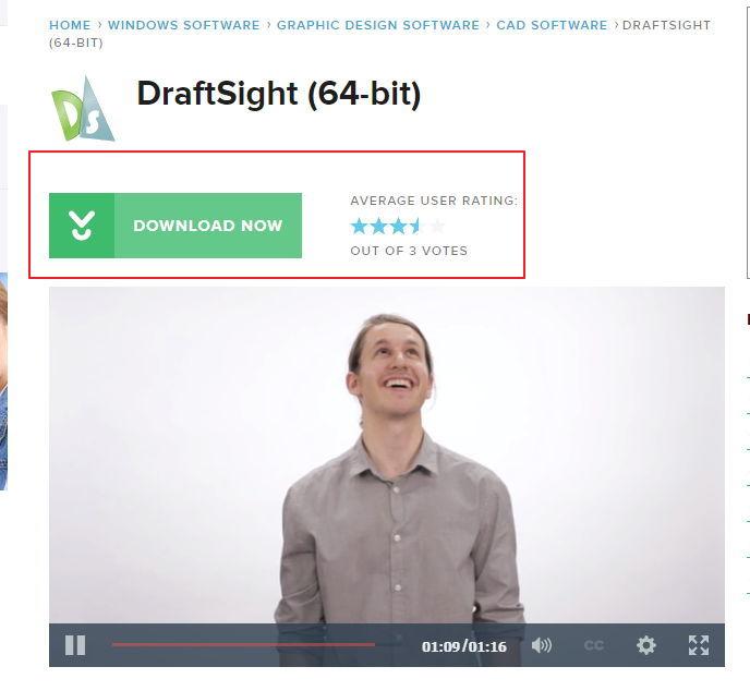【制图程式】DraftSight 2D工程绘图软体下载,工业制图软体推荐