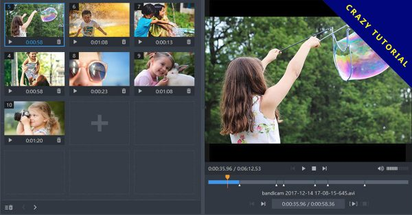 【影片分割】Bandicam 無損影片分割軟體下載,影片分段、剪輯就靠它了。