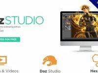 【3D人物建模】DAZ Studio 3D人物模型製作軟體下載,虛擬人物製作推薦