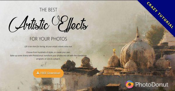 【素描軟體】PhotoDonut 照片轉素描軟體下載,免費素描濾鏡首選