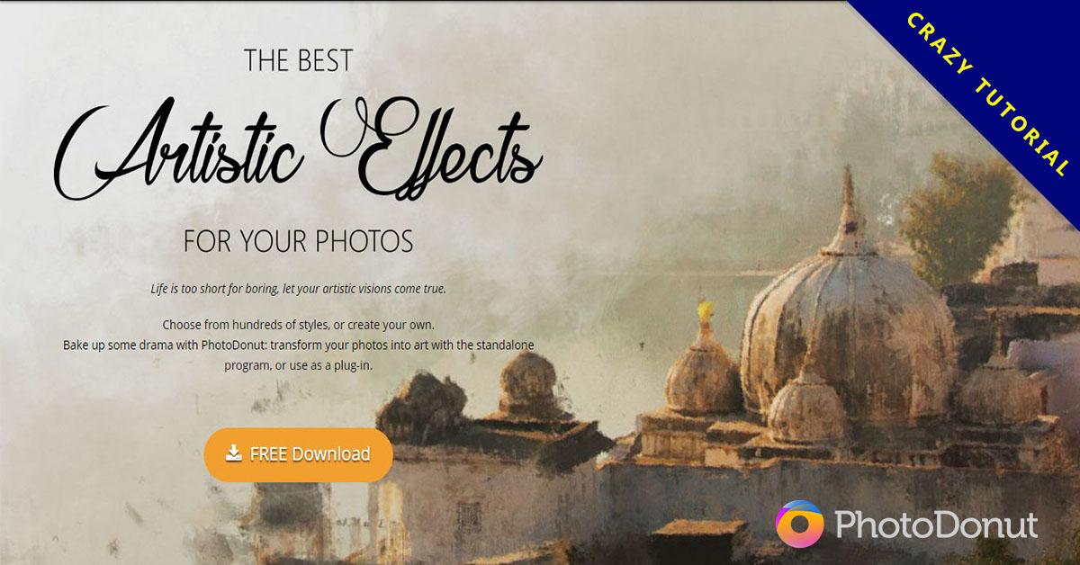 【素描軟體】PhotoDonut 照片轉素描軟體下載