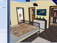 [ 房間設計 ] Room Arranger 房間設計軟體下載,臥室設計圖自己來DIY。