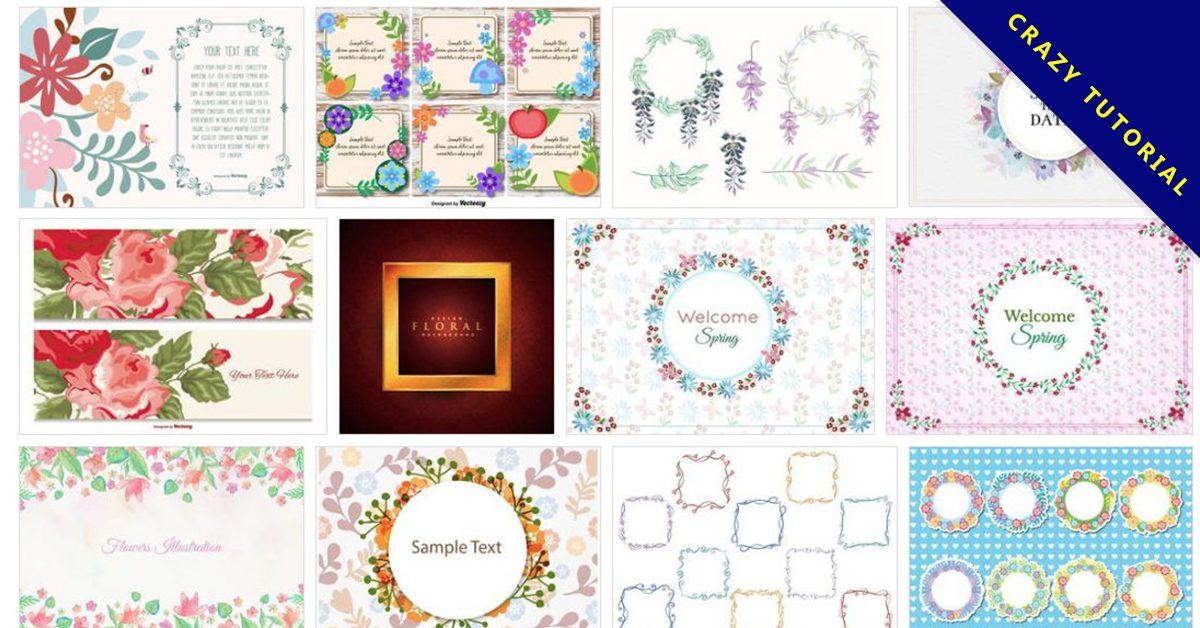 [ 花邊邊框 ] 65套illustrator 花邊設計素材 / 花邊圖庫 / 歐式花邊
