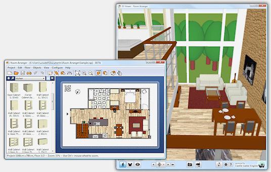 【房间设计软体】Room Arranger 房间设计软体下载,房间配色通通自己来
