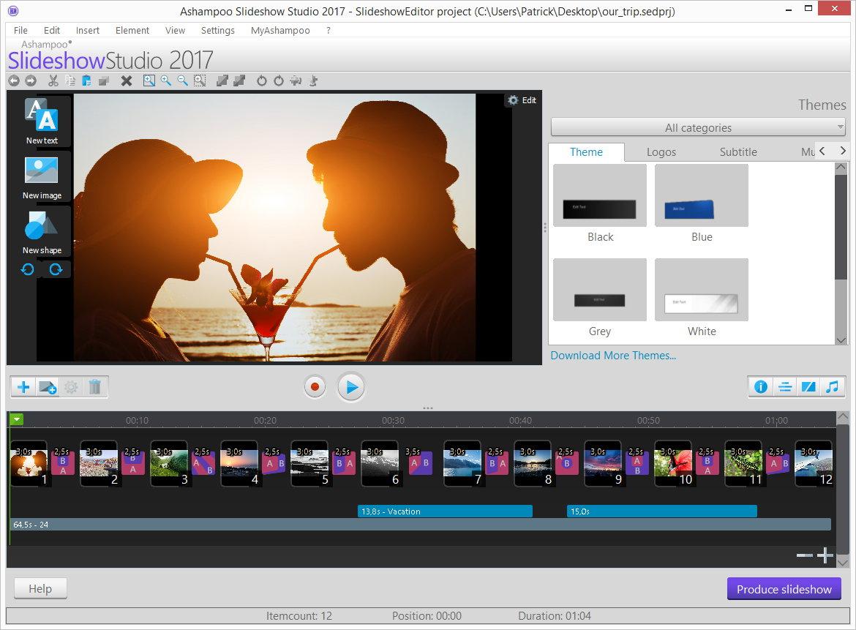 【照片变影片】快速将照片变影片的电脑软体下载,轻松做出照片轮播的影片
