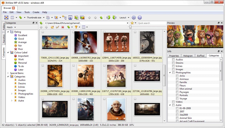 【看图软体】xnview 超好用的免费看图软体推荐
