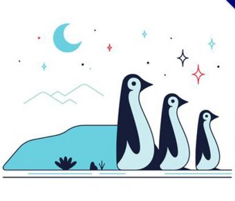 【企鵝卡通圖】35套 Illustrator 企鵝圖片下載,企鵝圖案推薦款