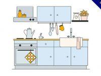 【廚房圖片】31套 Illustrator 廚房照片下載,廚房素材推薦款